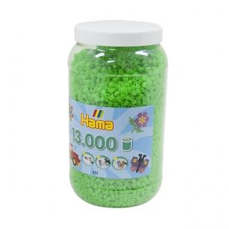 ハマビーズ ボトル 13000pcs ケイコウグリーン