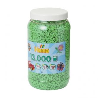 ハマビーズ ボトル 13000pcs パステルグリーン
