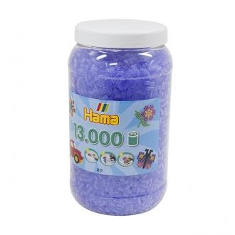 ハマビーズ ボトル 13000pcs クリアライトパープル