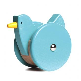 小鳥のおきあがりこぼし(青)