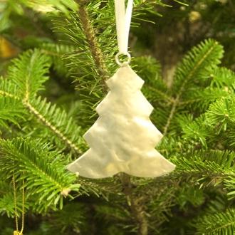 【在庫限り】メタルオーナメント クリスマスツリー