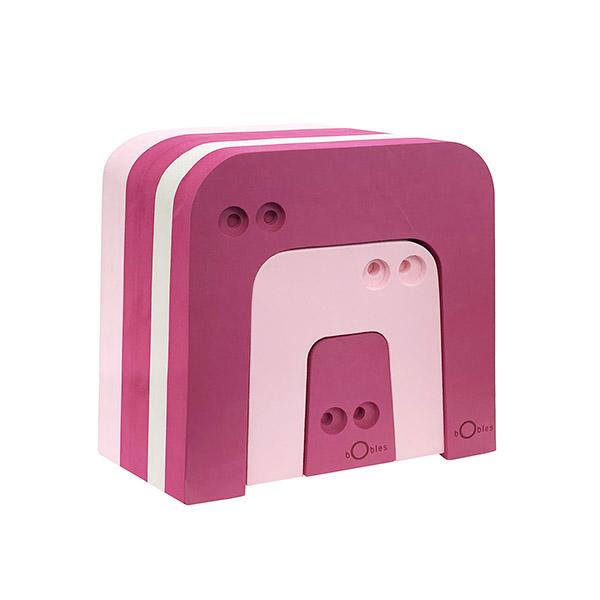 ボブルス アリクイ3個セット ピンク