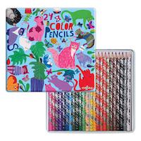 【在庫限り】色鉛筆 気まぐれなネコたち (24色)