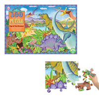 【再入荷時期未定】100ピースパズル 恐竜の世界