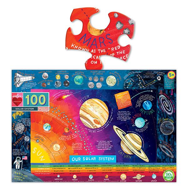 100ピースパズル 太陽系