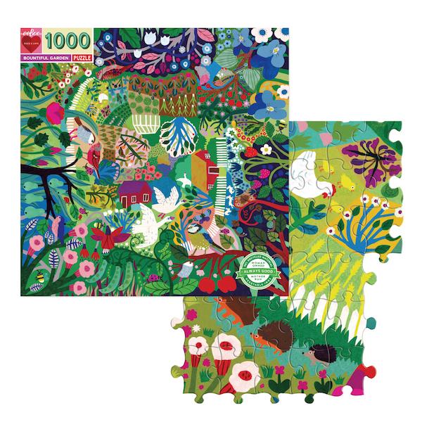 1008ピース・ファミリーパズル スプリング・ガーデン