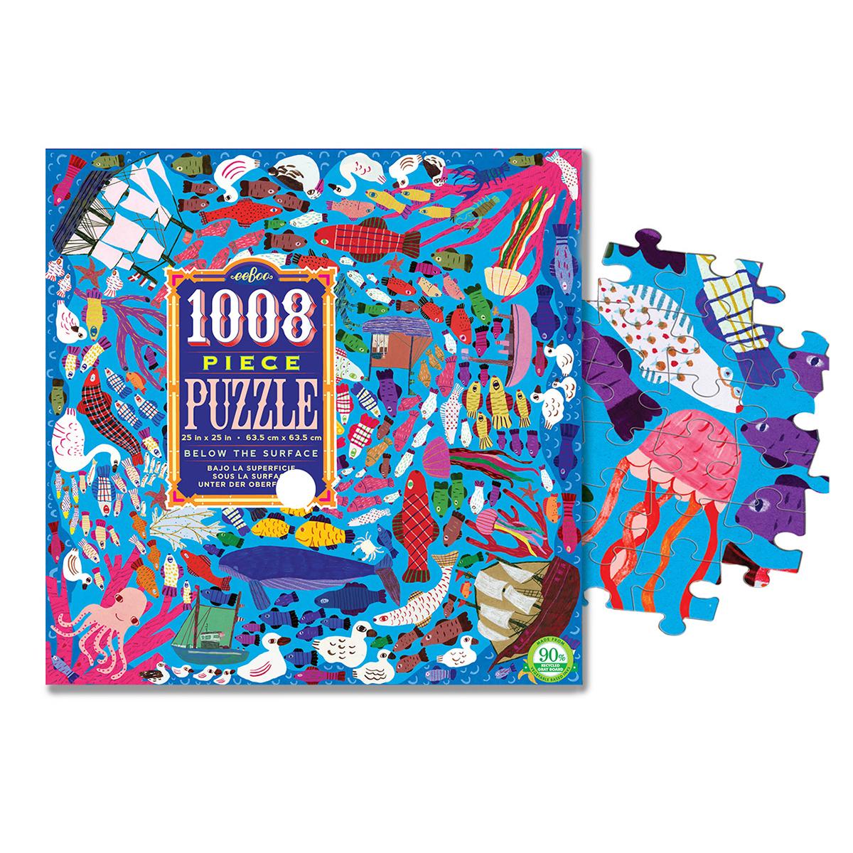 1008ピース・ファミリーパズル 海の中