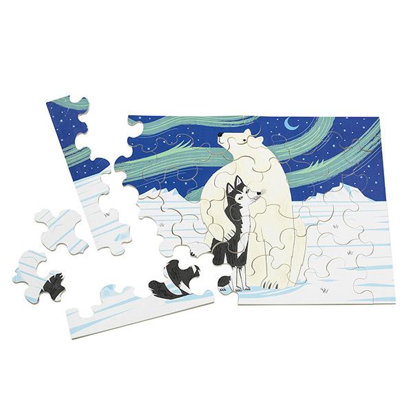 北極のなかよし(24ピース)