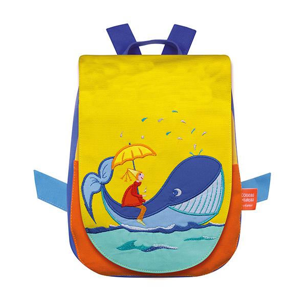 【50%OFF】ベビーリュック・クジラに乗った少年