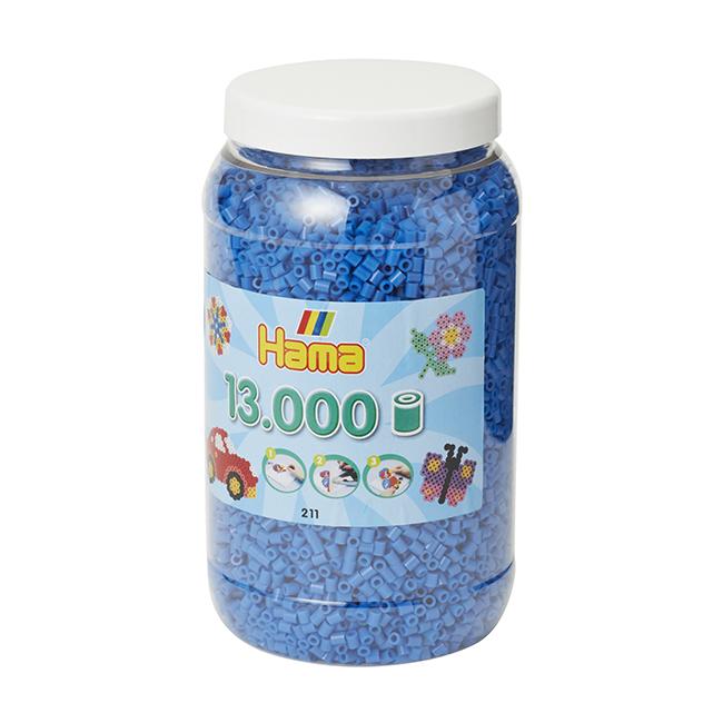 ハマビーズ ボトル 13000pcs ブルー