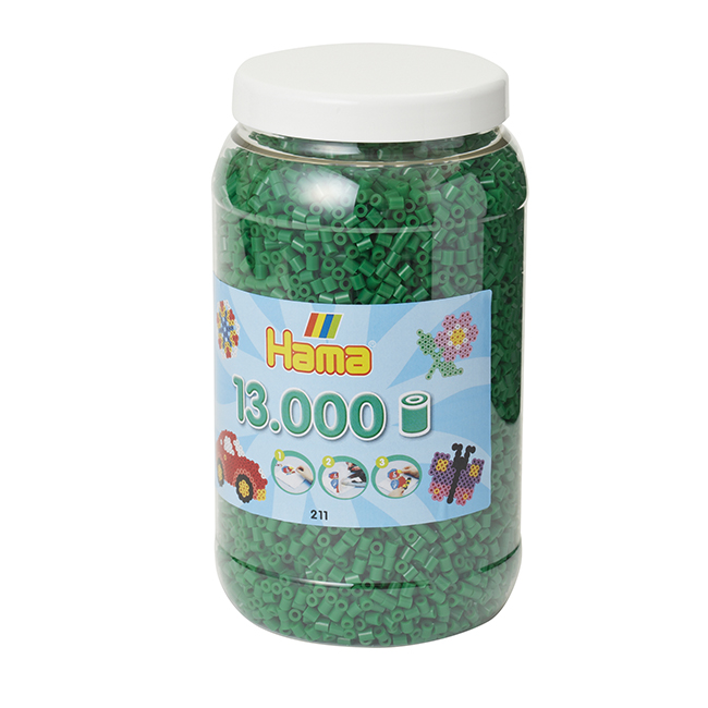 ハマビーズ ボトル 13000pcs グリーン