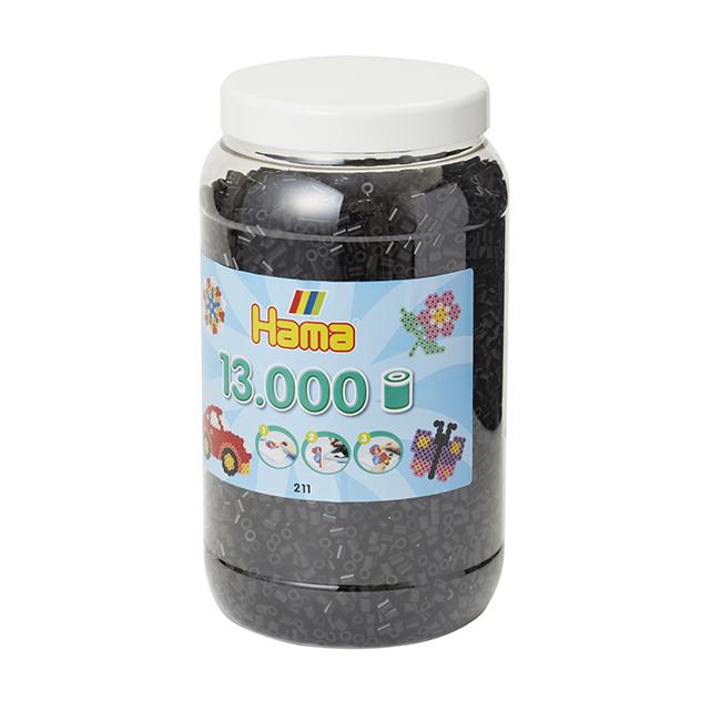 【8月上旬頃再入荷予定】ハマビーズ ボトル 13000pcs ブラック