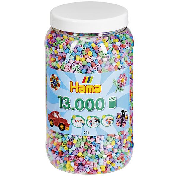 ハマビーズ ボトル 13000pcs ミックスパステル