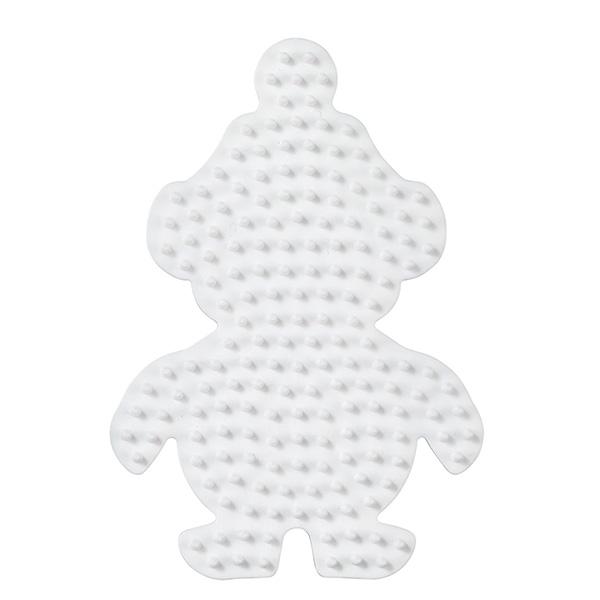 ハマビーズ ボード ちいさなペンギン(白)