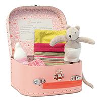 【再入荷時期未定】パペットボックス ベビーマウス・ニニのお世話セット