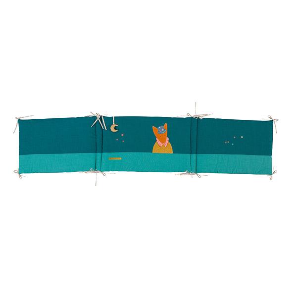 「タルタンポア」ベッドサイドパネル(ブルー)
