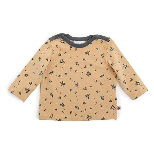 ローズマリー柄 ロングTシャツ(36ヶ月頃)