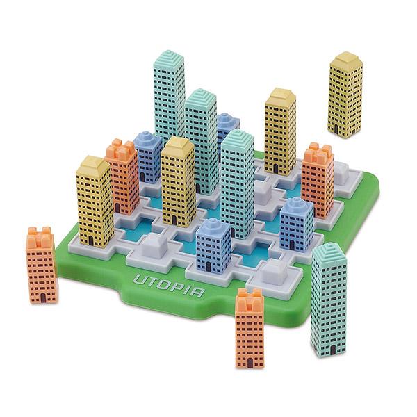 摩天楼パズルブロック・ユートピア