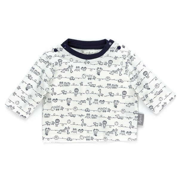 【50%OFF】長袖イラストTシャツ(6ヶ月ごろ)