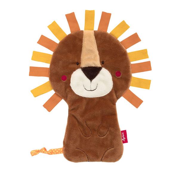 おしゃぶりタオル ライオン