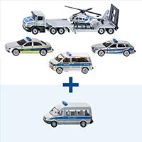 【期間限定】SIKU警察車両セット