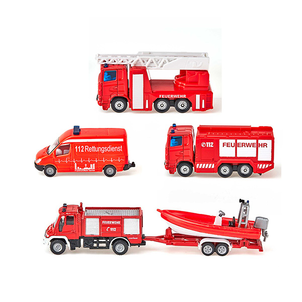消防車両セットS(ジク・SIKU)