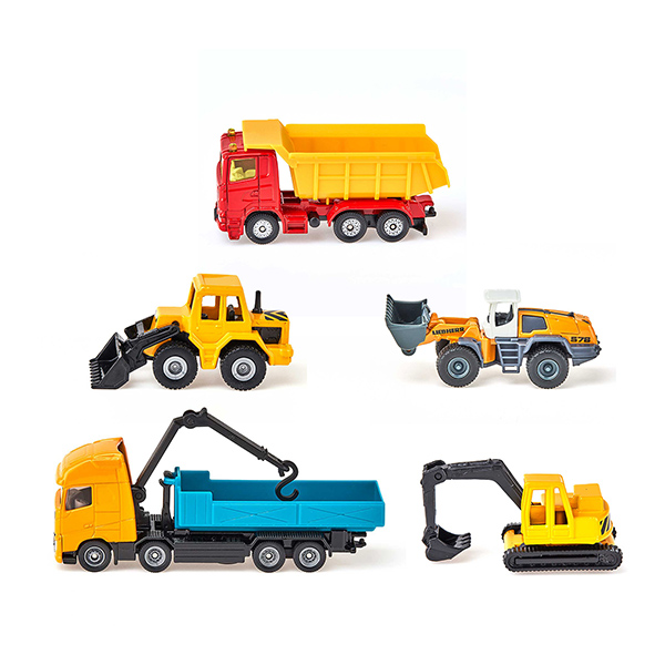 工事車両セットS(ジク・SIKU)