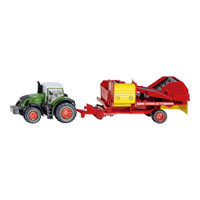 Fendt トラクター じゃがいも収穫機付き 1:87(ジク・SIKU)