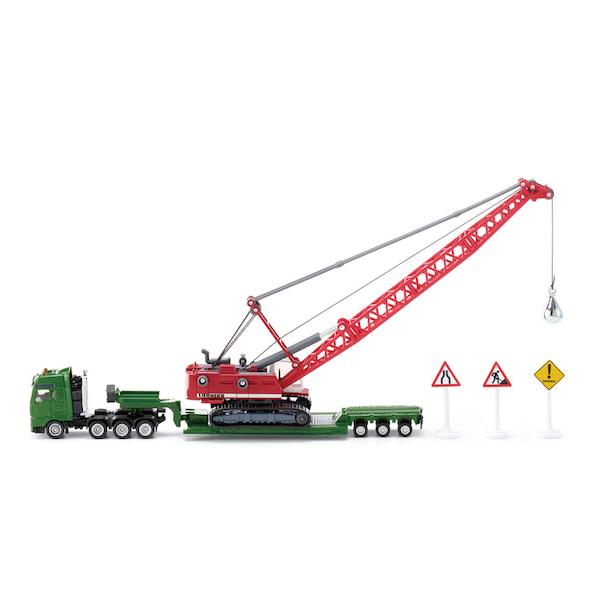 運搬車付き採掘クレーン 1:87(ジク・SIKU)