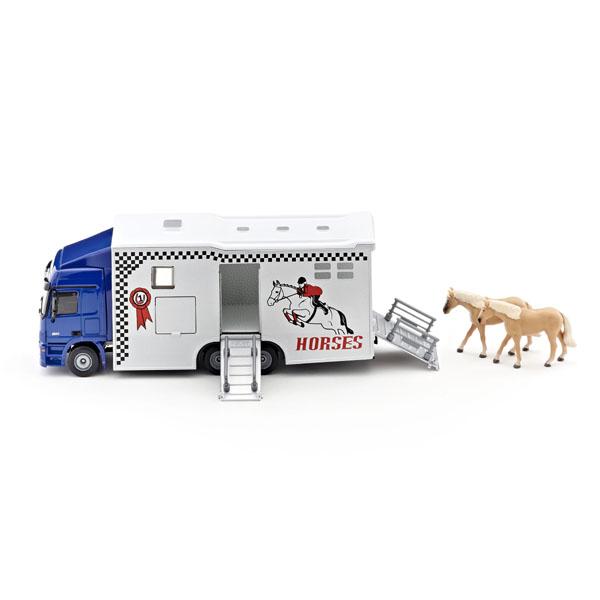 【在庫限り】馬運搬車 1:50(ジク・SIKU)