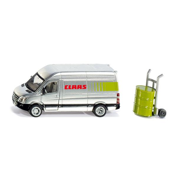 【在庫限り】Claas サービスカー 1:50(ジク・SIKU)