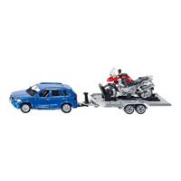 BMW×5 バイク用トレーラー付き 1:55(ジク・SIKU)