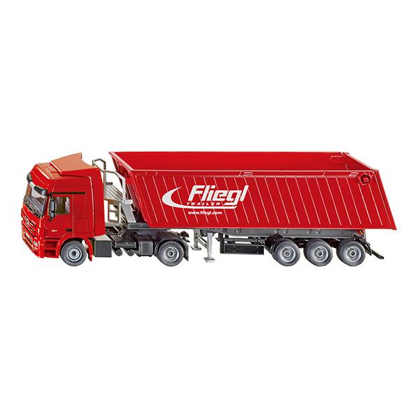 メルセデス・ベンツ トラック ティッピングトレーラー 1:50(ジク・SIKU)