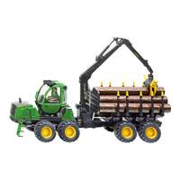 【在庫限り】ファーマー ジョンディア木材運搬車1/32(ジク・SIKU)