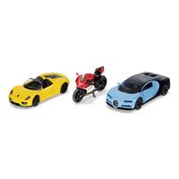 ギフトセット スポーツカーとバイク(ジク・SIKU)